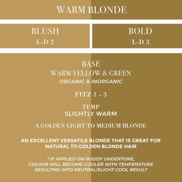 Blush To Bold Warm Blonde CIC